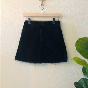 Brandy Melville John Galt corduroy mini skirt